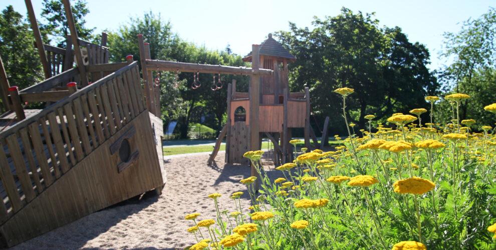 Spielplatz auf dem Schulhof