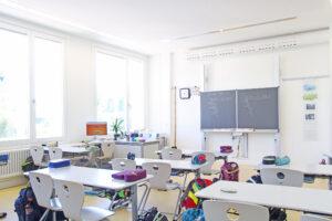 Klassenzimmer der 6. Grundschule
